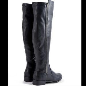 Black Tall Zinnia Boots